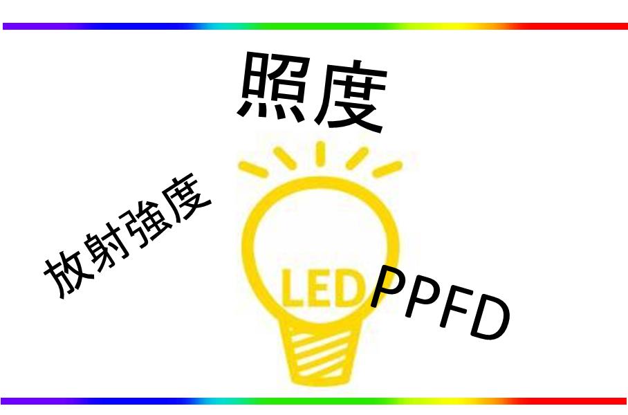 【室内栽培者必見】光の強さの3大表現方法